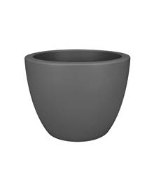 Pot Pure Soft Round D30 anthracite