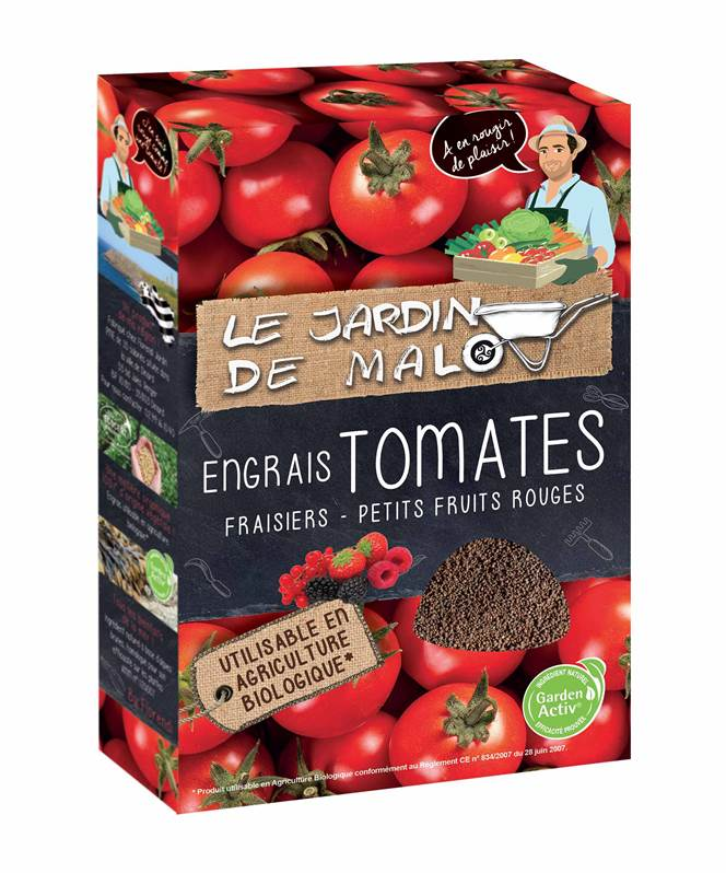 engrais granul s pour tomates et fraises 750g utilisable. Black Bedroom Furniture Sets. Home Design Ideas