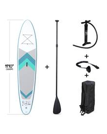 Pack stand up paddle gonflable Lio 11'10 avec pompe haute pression double action, pagaie, leash et s