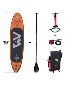 Stand Up Paddle Gonflable - Fusion 10'4 - 15cm d'épaisseur - Pack stand up paddle gonflable (SUP) av