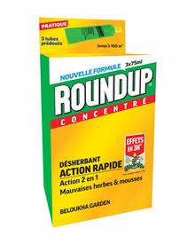 Round up concentré 3 tubes de 75ml (sans glyphosate)