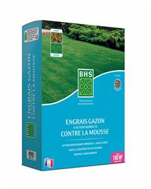 Engrais gazon efficace contre les mousses BHS
