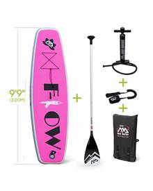 Stand Up Paddle Gonflable - Flow 9'99 - 15cm d'épaisseur - Pack stand up paddle gonflable (SUP) avec