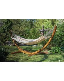 Hamac Natural 220x140cm en coton (vendu sans support)