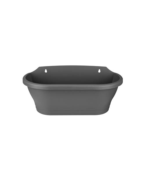 Pot mural Corsica Wall Basket 39 x 17 cm anthracite