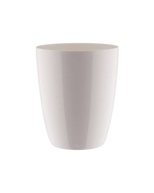 Cache pot Brussels Diamond Orchid D12 blanc