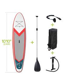Stand Up Paddle Gonflable – Pablo 10'10 - 15cm d'épaisseur - Pack stand up paddle gonflable (SUP) av
