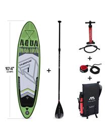 Stand Up Paddle Gonflable – Thrive 10'4 - 15cm d'épaisseur - Pack stand up paddle gonflable (SUP) av