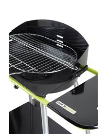 Barbecue charbon Isy Fonte 2 cuve fonte 52 x 36 cm Cook'in garden