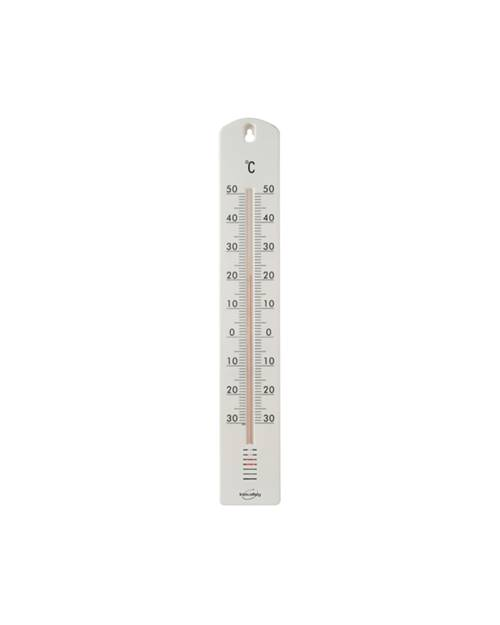 Thermometre plastique blanc willemse for Thermometre interieur precis
