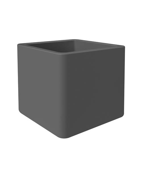 Pot Pure Soft Brick D40 anthracite