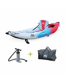 Canoë kayak gonflable - Betta K2 monoplace - Bateau 10'3 3,12m de long, 1 place eaux vives ou eau d