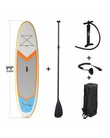 Stand Up Paddle Gonflable – Nico 9'9 - 15cm d'épaisseur - Pack stand up paddle gonflable (SUP) avec