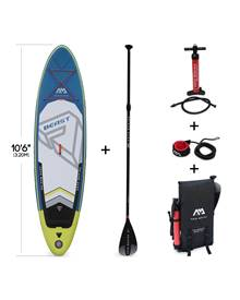 Stand Up Paddle Gonflable – Beast 10'6 - 15cm d'épaisseur - Pack stand up paddle gonflable (SUP) ave