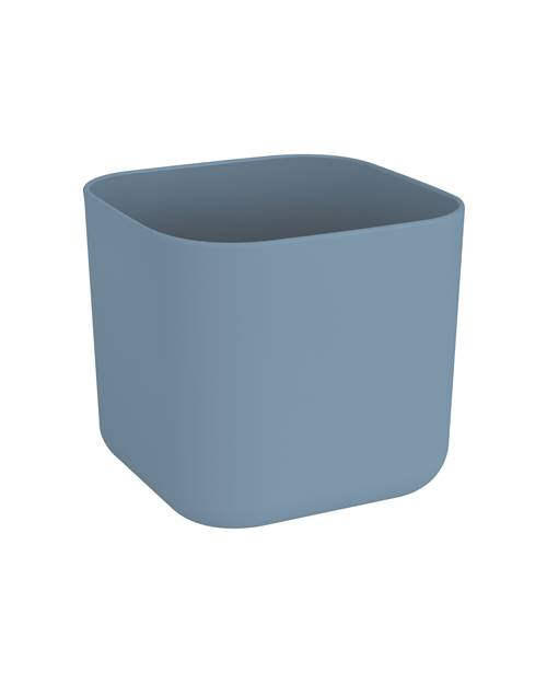 Cache pot B For Soft Square D18 bleu