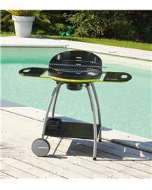 Barbecue charbon Isy Fonte 3 cuve fonte D51 cm Cook'in garden