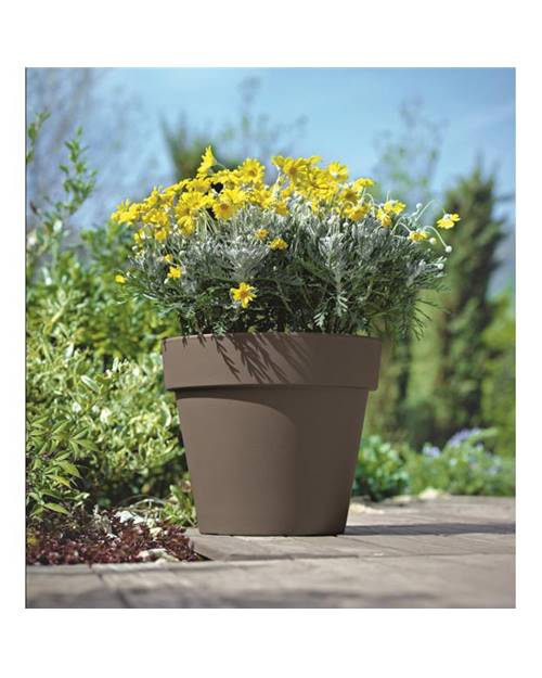 Pot simple ° 50cm tourterelle