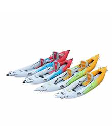 Canoë kayak gonflable - Betta K0 monoplace - Bateau 10'3 3,12m de long, 1 place eaux vives ou eau d