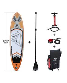 Stand Up Paddle Gonflable –Magma 10'10 - 15cm d'épaisseur - Pack stand up paddle gonflable (SUP) ave