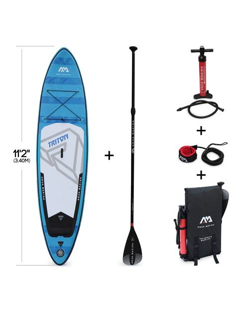 Stand Up Paddle Gonflable – Triton 11'2 - 15cm d'épaisseur - Pack stand up paddle gonflable (SUP) av