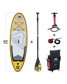 Stand Up Paddle Gonflable - Vibrant 8'0 - Pack stand up paddle gonflable (SUP) avec pompe haute pres